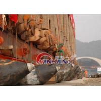 Quality Natural Rubber caission moving Heavy Lift Air Bags , marine salvage lift bags for sale