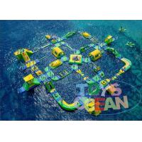 Giant Commercial Inflatable Water Park For Children Floating CE