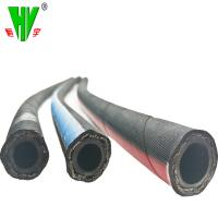 Quality Professional hydraulic hose manufacturer supply steel wire braid OEM rubber hoses sae100 r17 for sale