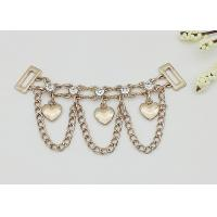 High Heel Shoe Accessories Chains Customized Color Corrosion Resistant