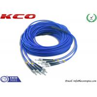 Buy 4 Cores Armored Fiber Optic Patch Cord ST to ST Rodent Resistant at wholesale prices