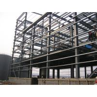 Quality Q235B Multi Floor Building Steel Frame For Office Dormitory Commercial Building for sale