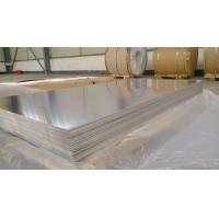 Quality Waterproof Marine Grade Aluminum Sheet , 5083 Alloy 4mm Aluminum Sheet for sale