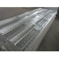 Quality Layher Allround Steel Plank, Pre-galvanized, Australian Standard Scaffold Plank for sale