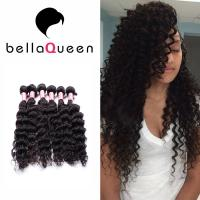 Quality Afro Kinky Curly Mink 100% Peruvian Human Hair Extensions For Black Women for sale