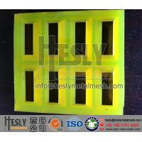 Quality polyurethane Mining Screen Mesh Panel for sale