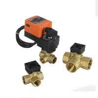 Quality On Off Type Electric Solenoid Water Inlet Ball Valve Actuator Hand Operated 220VAC for sale
