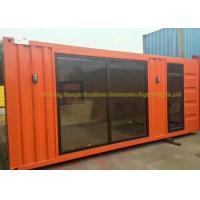 China Light Steel Framing Prefab Container House 20 Feet Steel Structure on sale