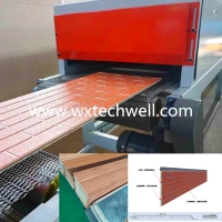 Quality 16 x 380mm PU Foam Insulated Exterior Decorative Wall Panel Roll Forming Machine for sale