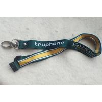 Quality PP Material Promotional Printing Satin Lanyard With Custom Logo for sale