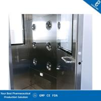 Quality GMP OEM Cleanroom Dynamic Air Shower Pass Box Static Through Pass Box for sale