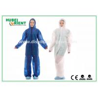 Quality Disposable Coveralls Non-Woven Microporous Fabric China manufacturer for sale