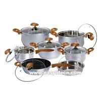 Quality 13PCS JUMBO-LUX STAINLESS STEEL COOKWARE SET for sale