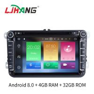 China VW GOLF TIGUAN TOURAN Volkswagen DVD Player Android 8.0 Gps Navigator on sale