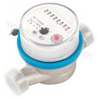 Quality Russia market Single Jet Dry Type universal Vane Wheel Brass LXSC-D5 Water Meter for sale