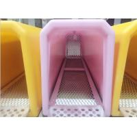 Quality Travelling Portable Rotational Moulding Products Plastic Pet Cage Various Colors for sale