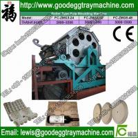 China Recyled Paper egg trays pulp molded machinery CE Approved on sale