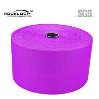 Quality Resuable 3M Dual Lock  Tape , Purple Wide Hook And Loop Roll for sale