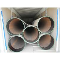 Quality S355 Spiral Welded Steel Pipes with special coating for sale