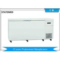 Quality Chest Type Horizontal Laboratory Deep Freezer Ultra Low Temperature 480L With Sound Alarm Function for sale