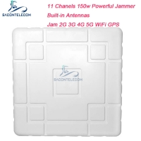 Buy cheap 150w Powerful Mobile Phone Signal Jammer Block 2G 3G 4G 5G Long Distance from wholesalers