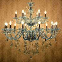 Quality Fancy chandeliers for sale Pink Color with gold body ( WH-CY-01) for sale