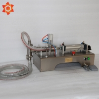 Quality Single Head Semi Automatic Filling Machine , High Speed Tube Filling Machine for sale