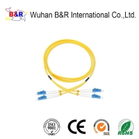 Quality FTTH LC 9/125μM 2.0mm Fiber Optic Patch Cord for sale