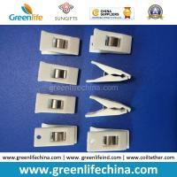 Quality White Color Plastic Hot Sale Office Stationery ID Promotional Clips for sale
