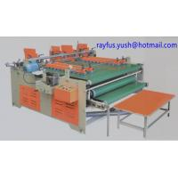 Quality Carton Folding And Gluing Machine Pressure Model For Non Standard Size for sale