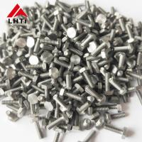 China Electroplating Forged DIN933 Gr2 Titanium Hex Head Bolts on sale
