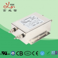 Quality Industrial AC Power Noise Filter , EMI EMC RFI 240V AC Mains Filter for sale