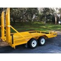 China Indespension 8x5 Plant Equipment Trailer , Construction Equipment Hauling Trailers on sale