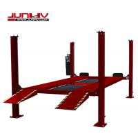 Quality CE certificated Four Post Vehicle Lift High Adaper With Runway Width 475mm for sale