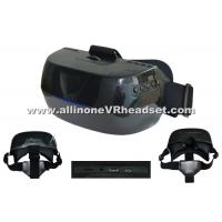 Quality Convenient Black 3D Virtual Reality Glasses 3 Hours Playing 64 Bit Processer for sale