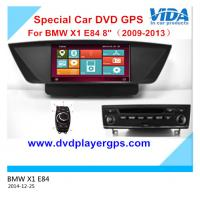 Buy cheap Car dvd for BMW X1 E84 (2009-2013) with 8 Inch Digital Screen 3D WIFI Android from wholesalers