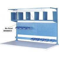 "Buy cheap Bin Panel Industrial Work Benches Hold Plastic Bins 60"" P/C Finish from wholesalers"