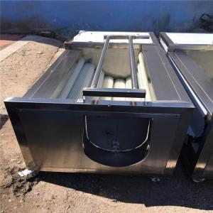 China 1.5kw Fruit Washing Equipment , Electric Control Tomato Washing Machine on sale