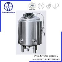 Quality Brewhouse Beer Conditioning Tank PU Rockwool Insulation Polishing Below 0.4um for sale