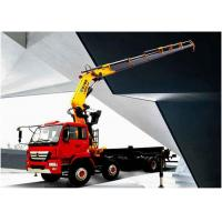 Quality Durable 25 Ton Articulated Boom Crane , Transportation Truck Loader Crane for sale