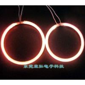 China (106+127) X 2 pcs angel eyes for TOYOTA Carolla projector lens headlight on sale
