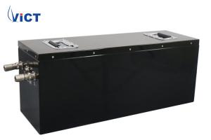 Quality Deep Cycle Lithium Ion Storage Battery Pack Lifepo4 48V 100Ah For Solar System for sale