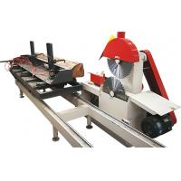 China Twin blades circular table saw for woodworking,Automatic circular blade wood sawmill machine on sale
