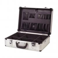 Quality ELECTRICIAN ALUMINIUM LOCKABLE FLIGHT CASE TOOL BOX for sale
