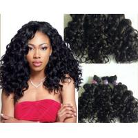 Quality 100g Full Cuticle Body Wave Curly Human Hair Extensions No Damage for sale