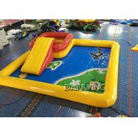 China 6 * 6 * 0.65M Inflatable Swimming Pool / Large Inflatable Pool Toys For Kids on sale