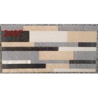Quality Industrial Rectangular 3d Printing Ceramic Tiles Living Room / Outside  200x400 for sale