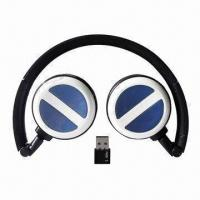 Quality 2.4G Wireless Headset with Working Voltage of 3.7V for sale
