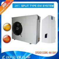 Quality Low Noise Air To Water Heat Pump Hot Water Heater For Radiators / Floor Heating / Fan Coil for sale