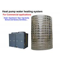 Quality 4.0 Cop Solar Powered Hot Water Heater Floor Standing Installation CE Approved for sale